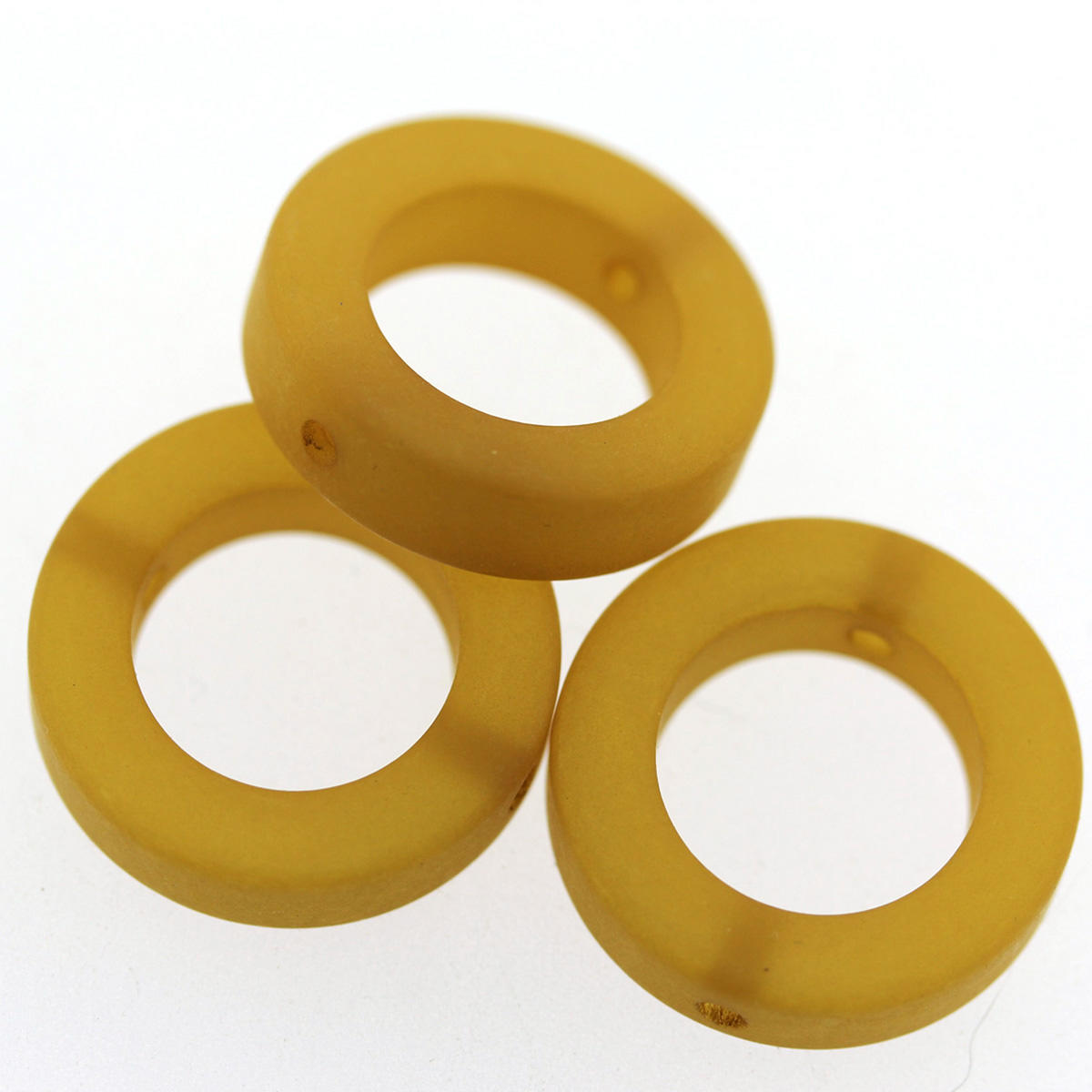Golden Polaris Open Circle Bead