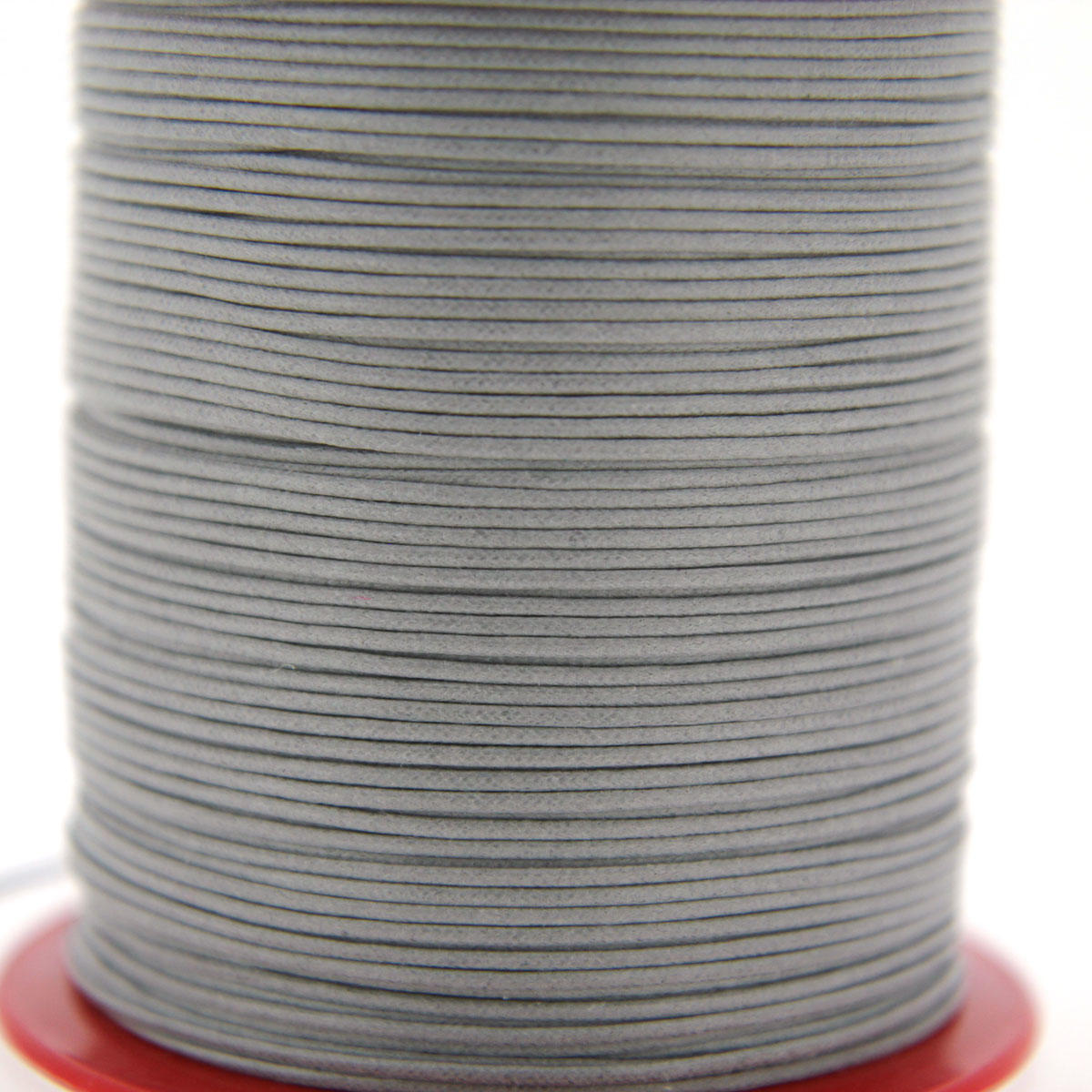 Grey 1.5mm Cotton Bead Cord