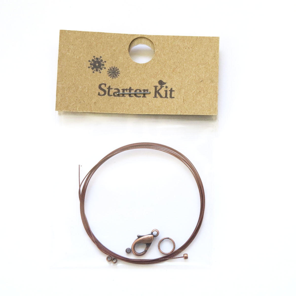 Start Making Necklace Kit/Mending Kit - Copper