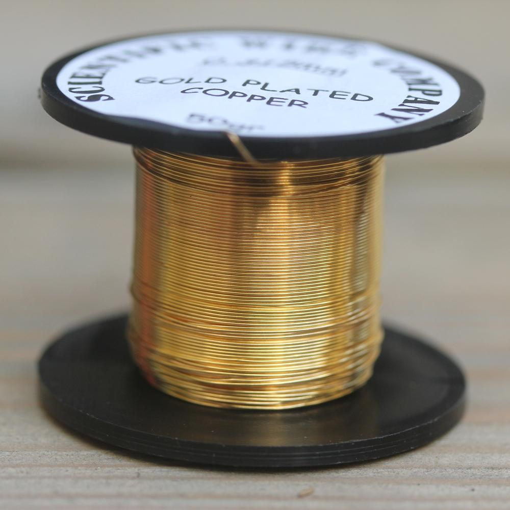 Gold 0.315 Scientific Wire