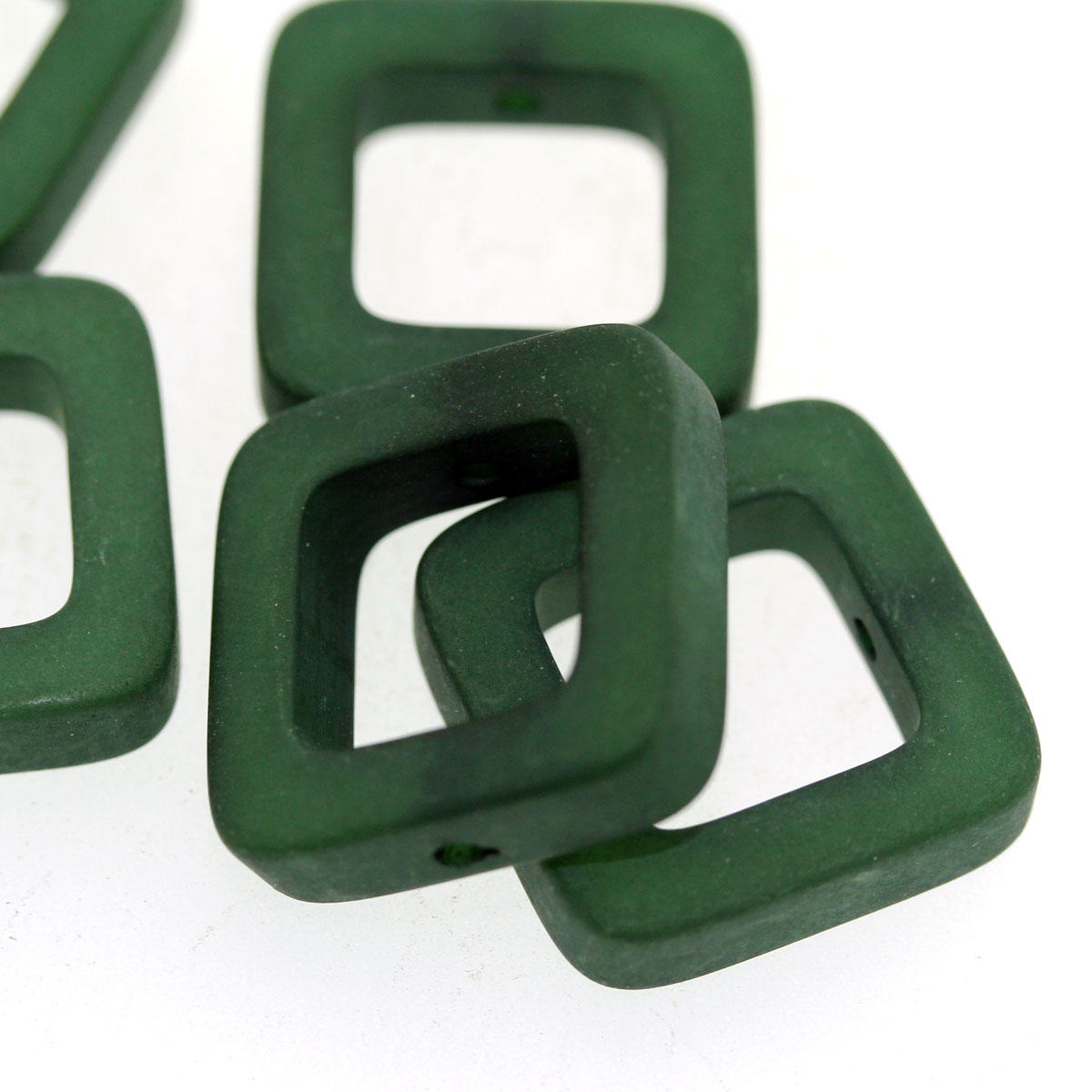 Emerald Green Polaris Quadro Bead