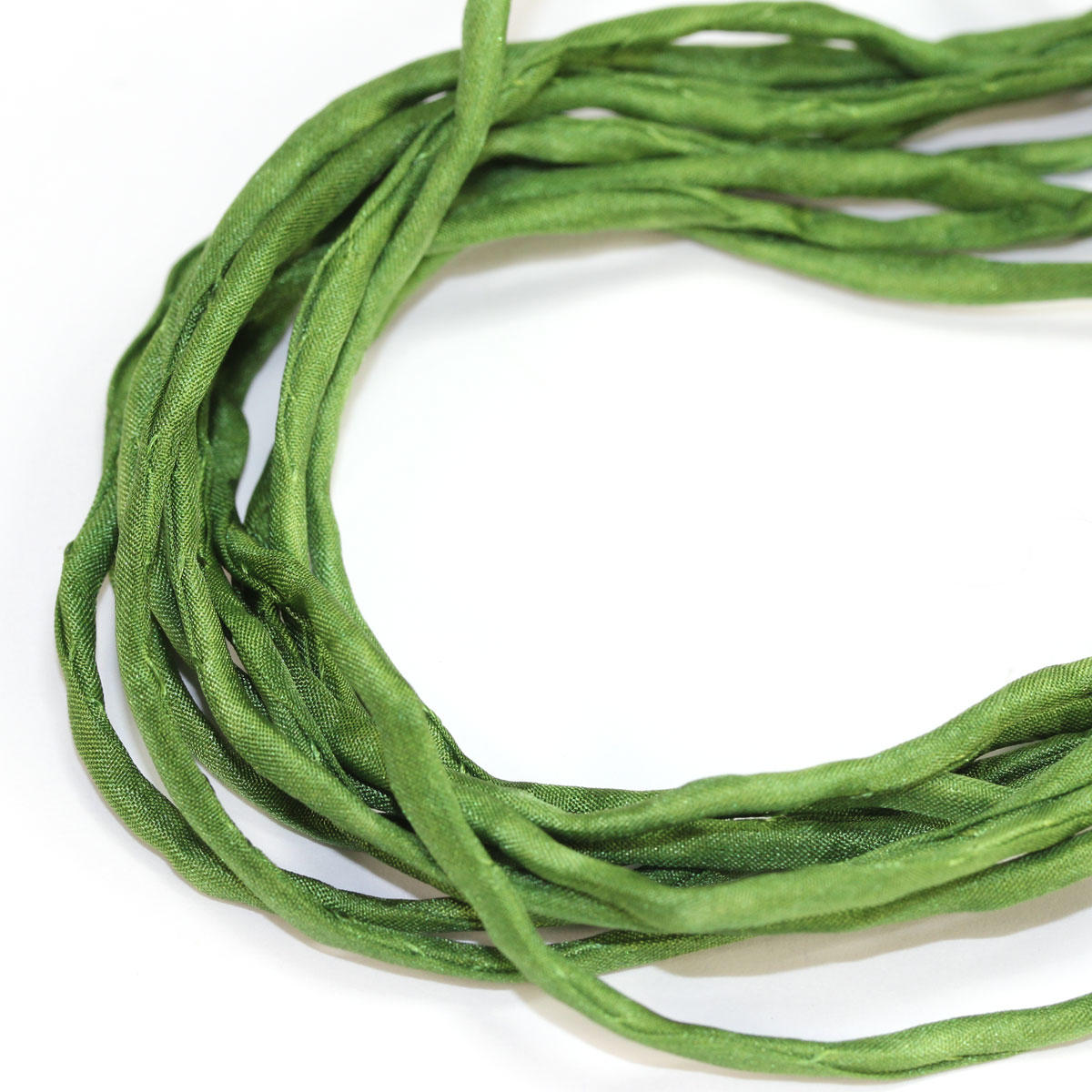 Silk String Pine Green