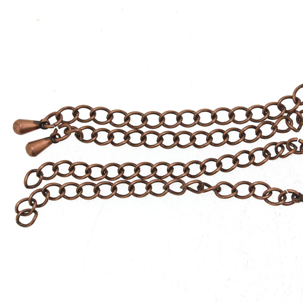 Antique Copper Extender Chain Finding