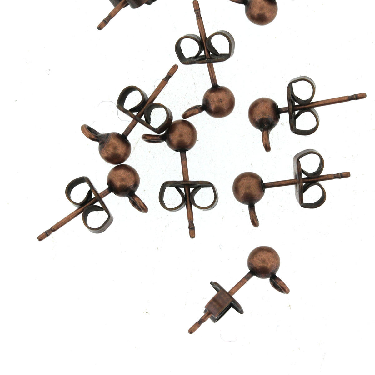 Antique Copper Earring Fittings