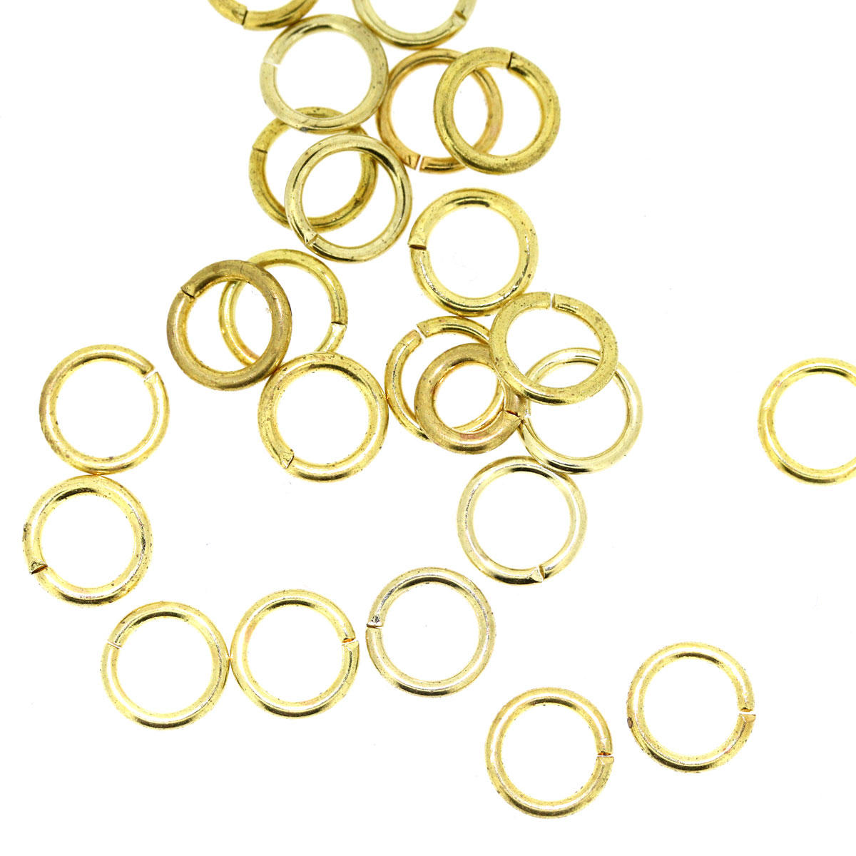 Light Gold Basic 7mm Jump-ring