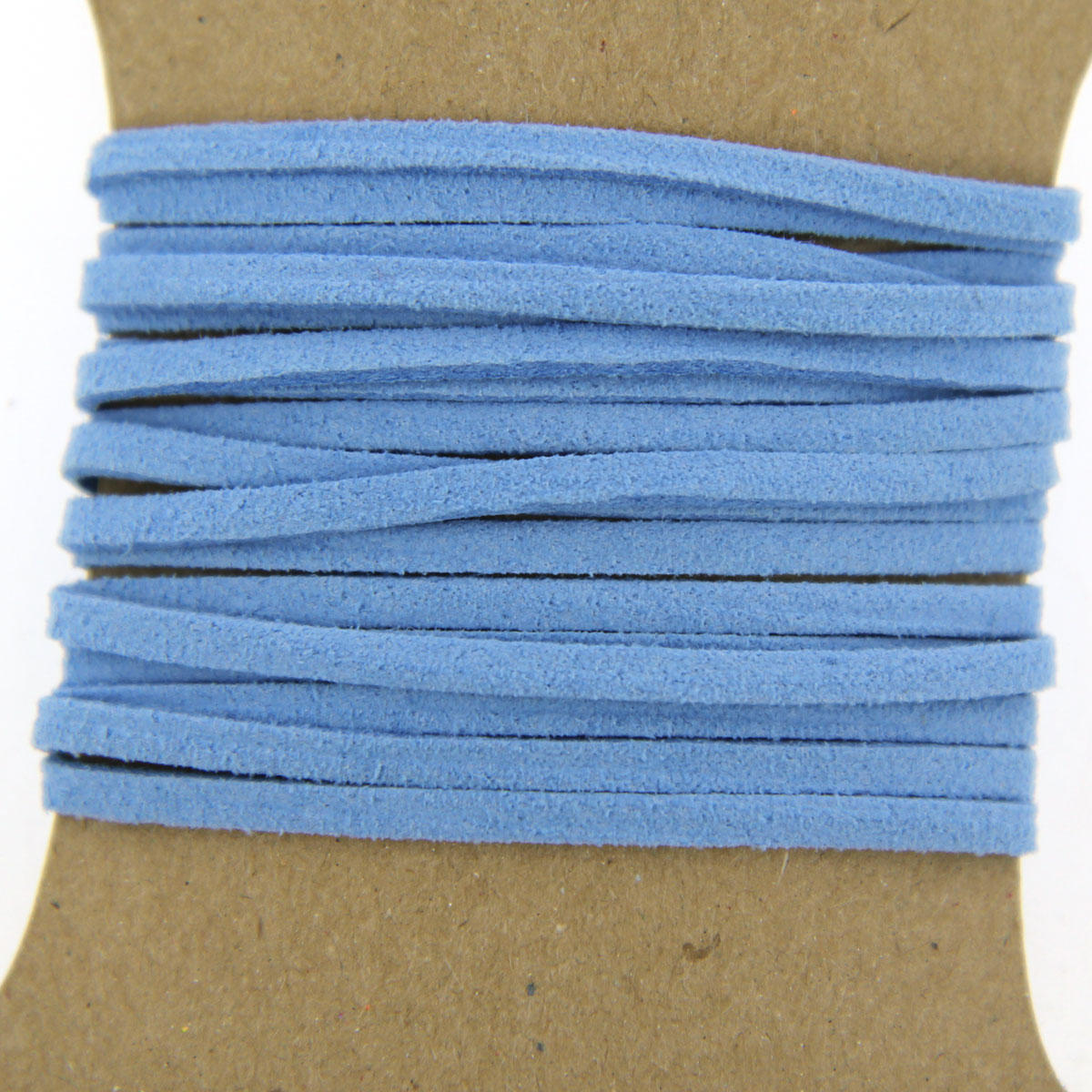 Blue Faux Suede Jewellery Cord