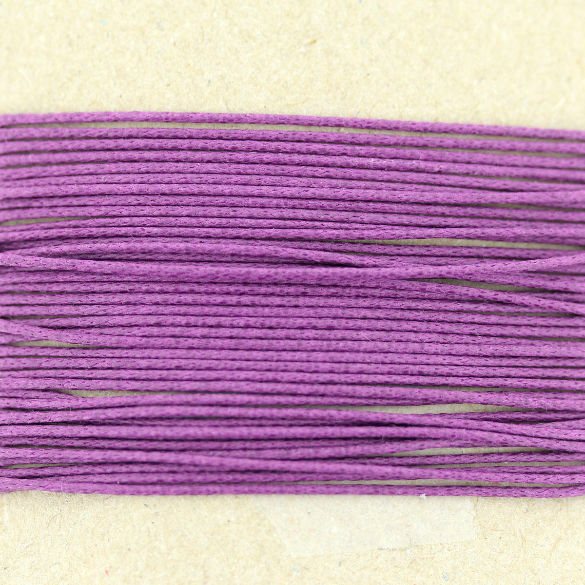 Cyclamen Thin Cotton Bead Cord 0.7mm