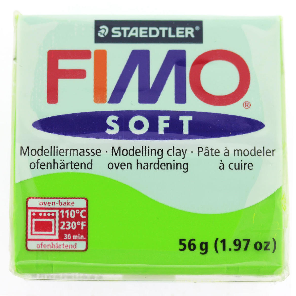 Polymer Clay Fimo Soft/Apple Green