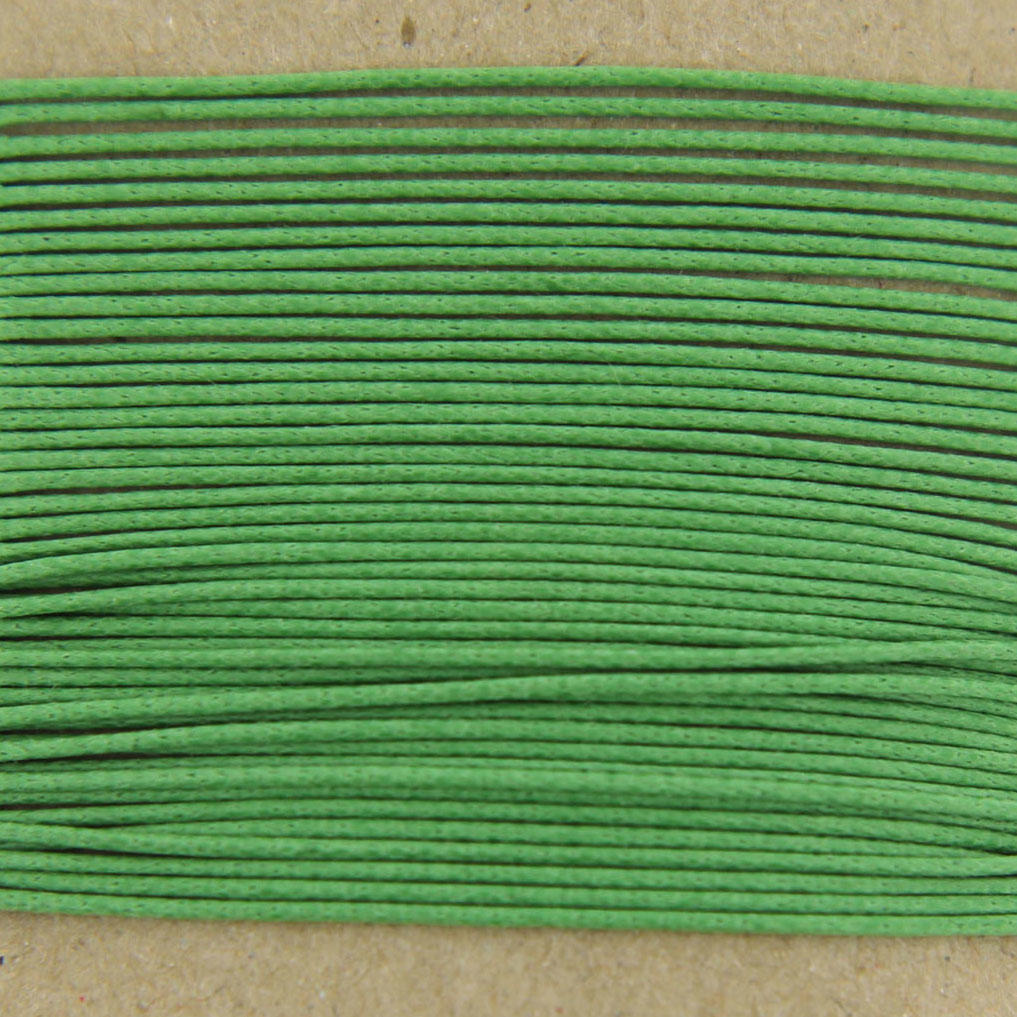 Apple Green Thin Cotton 0.7mm Bead Cord