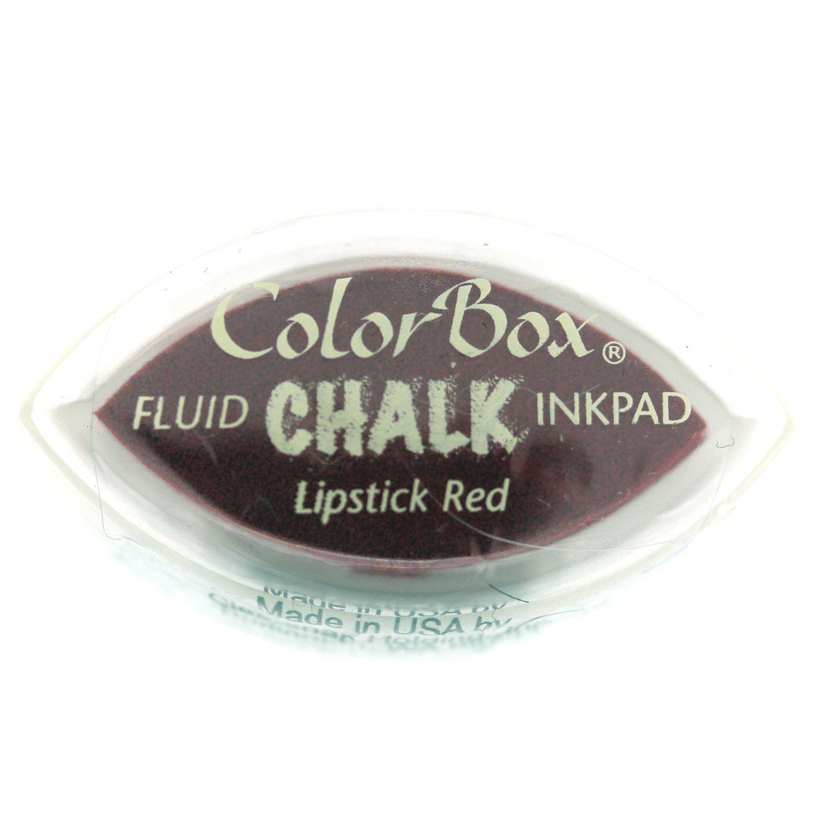From Colourbox  Lipstick Red  For Rubber Stamping  USA  45mm x 25mm