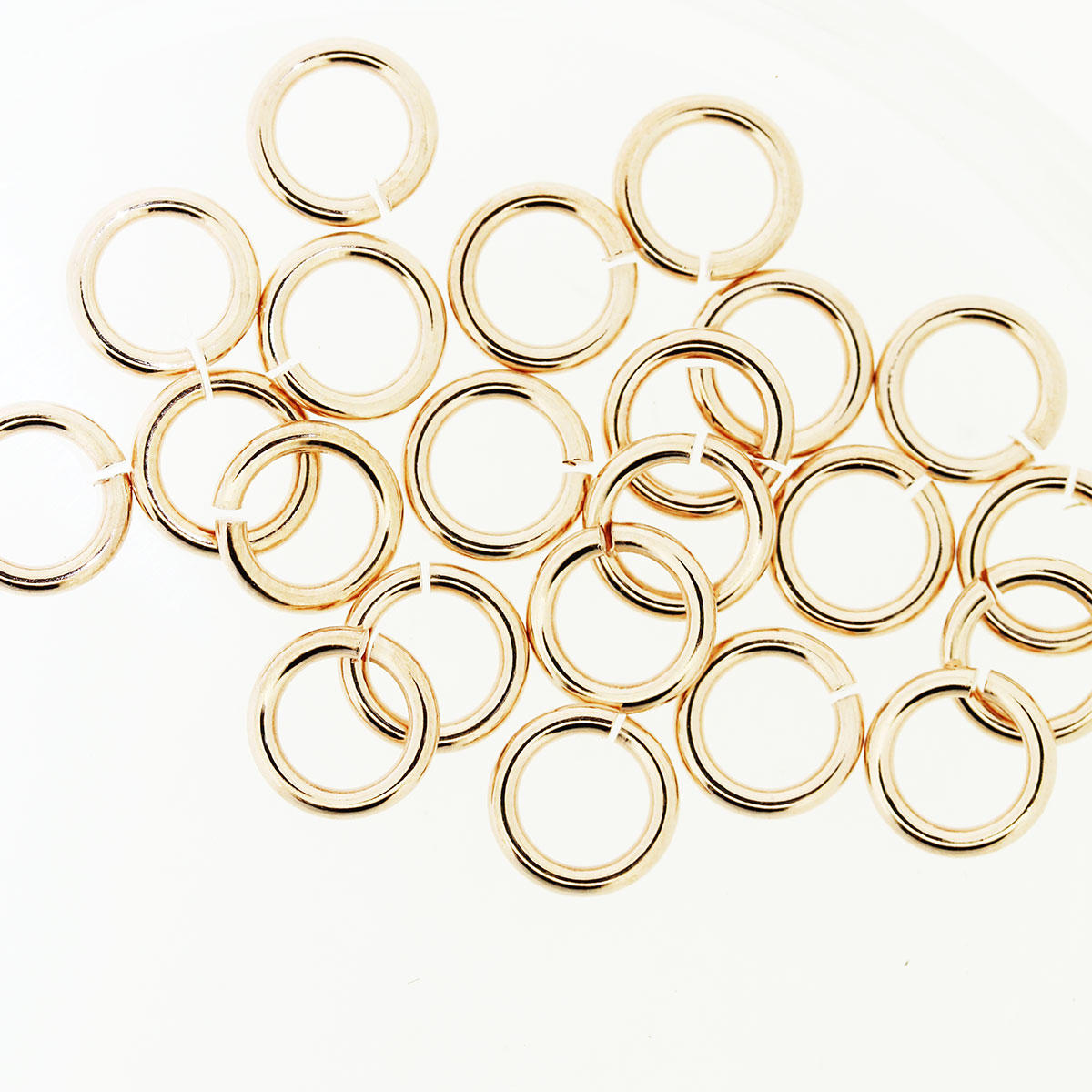 Rose Gold 7mm Thicker Jump-ring