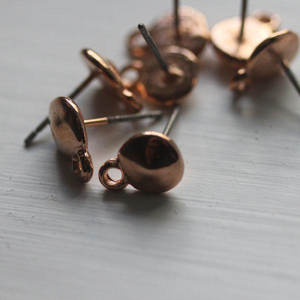 New Rose Gold Earring Fitting