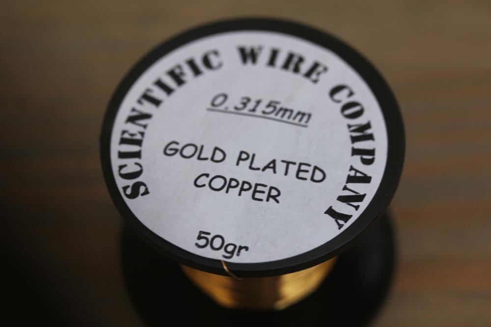 Gold Plated 0.315 Scientific Wire