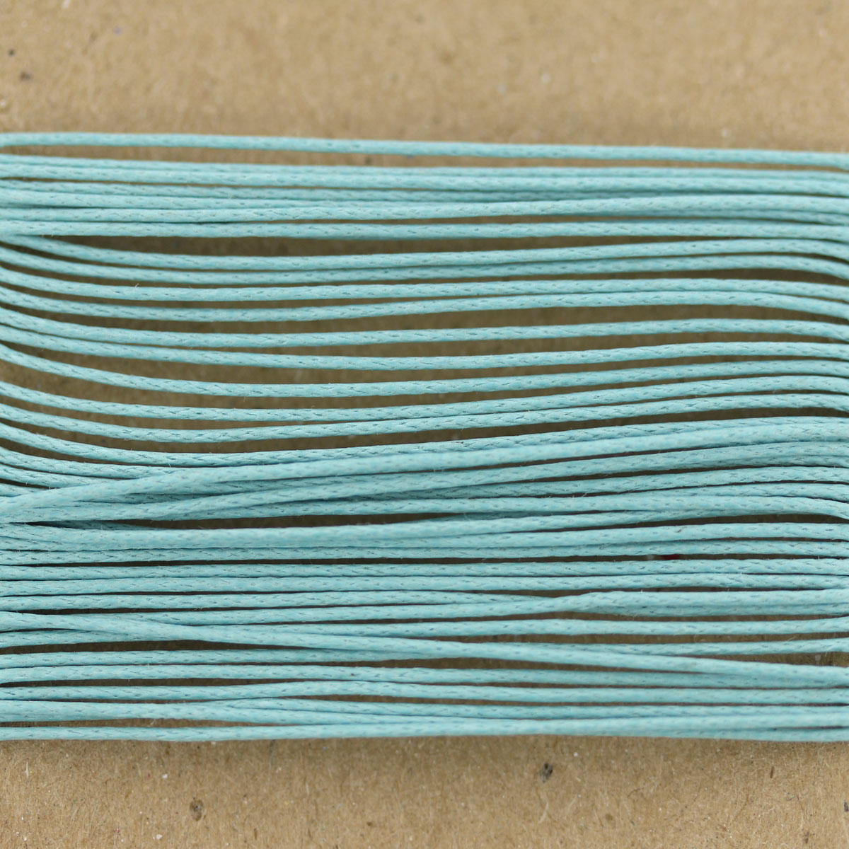 Aqua Thin Cotton Bead Cord 0.7mm