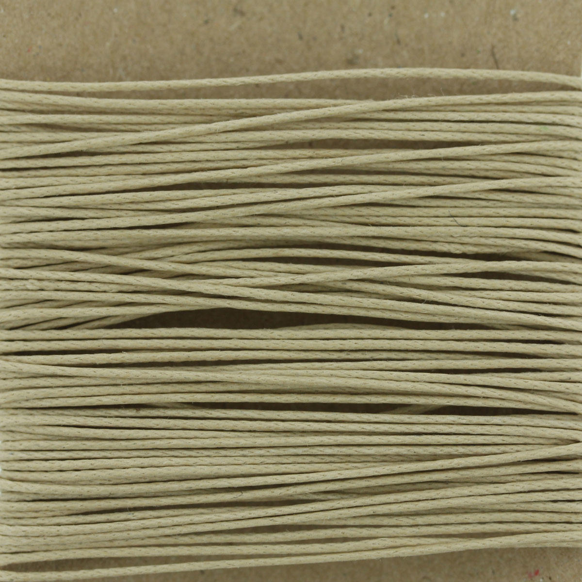 Natural 0.7mm Thin Cotton Bead Cord
