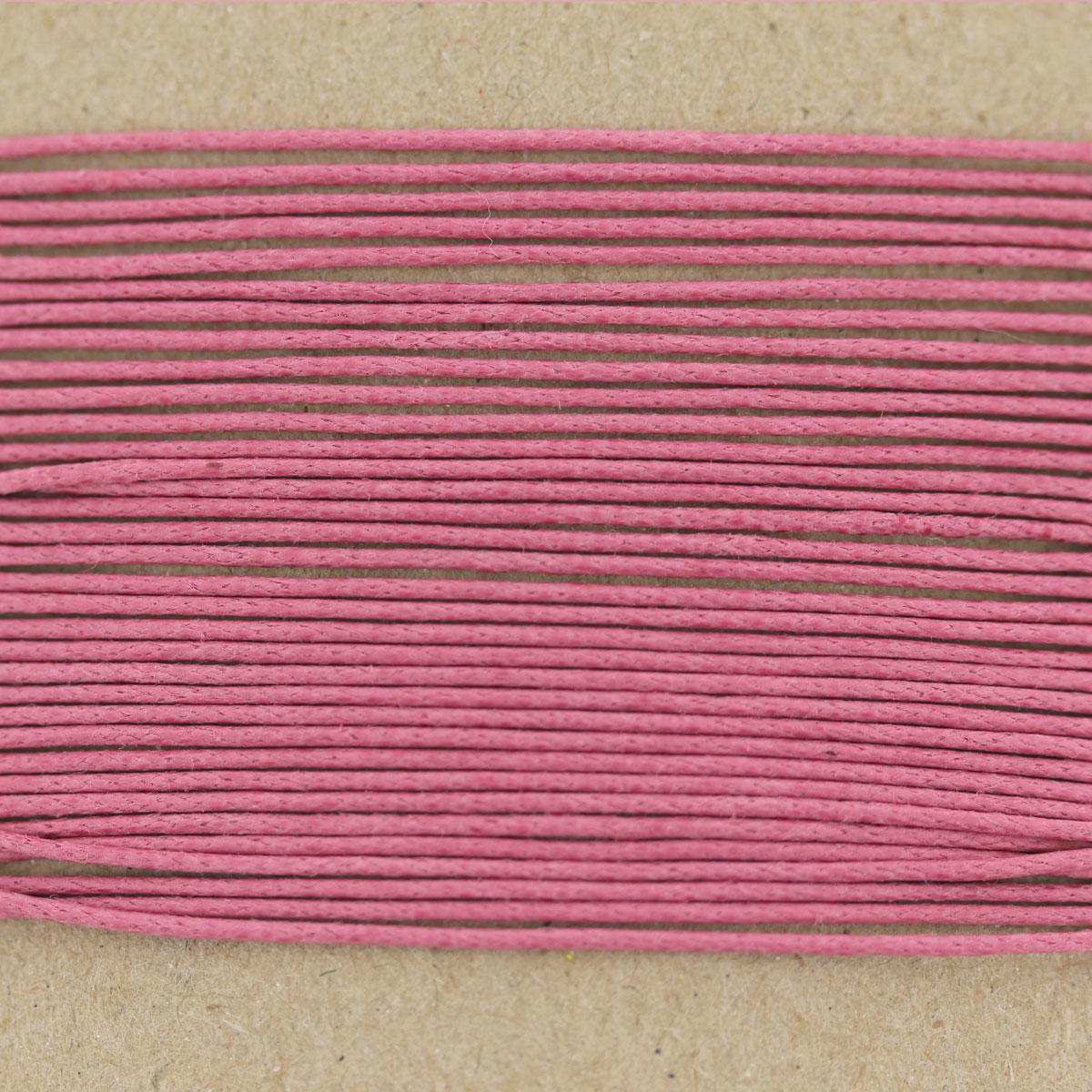 Rose Pink Thin Cotton Cord