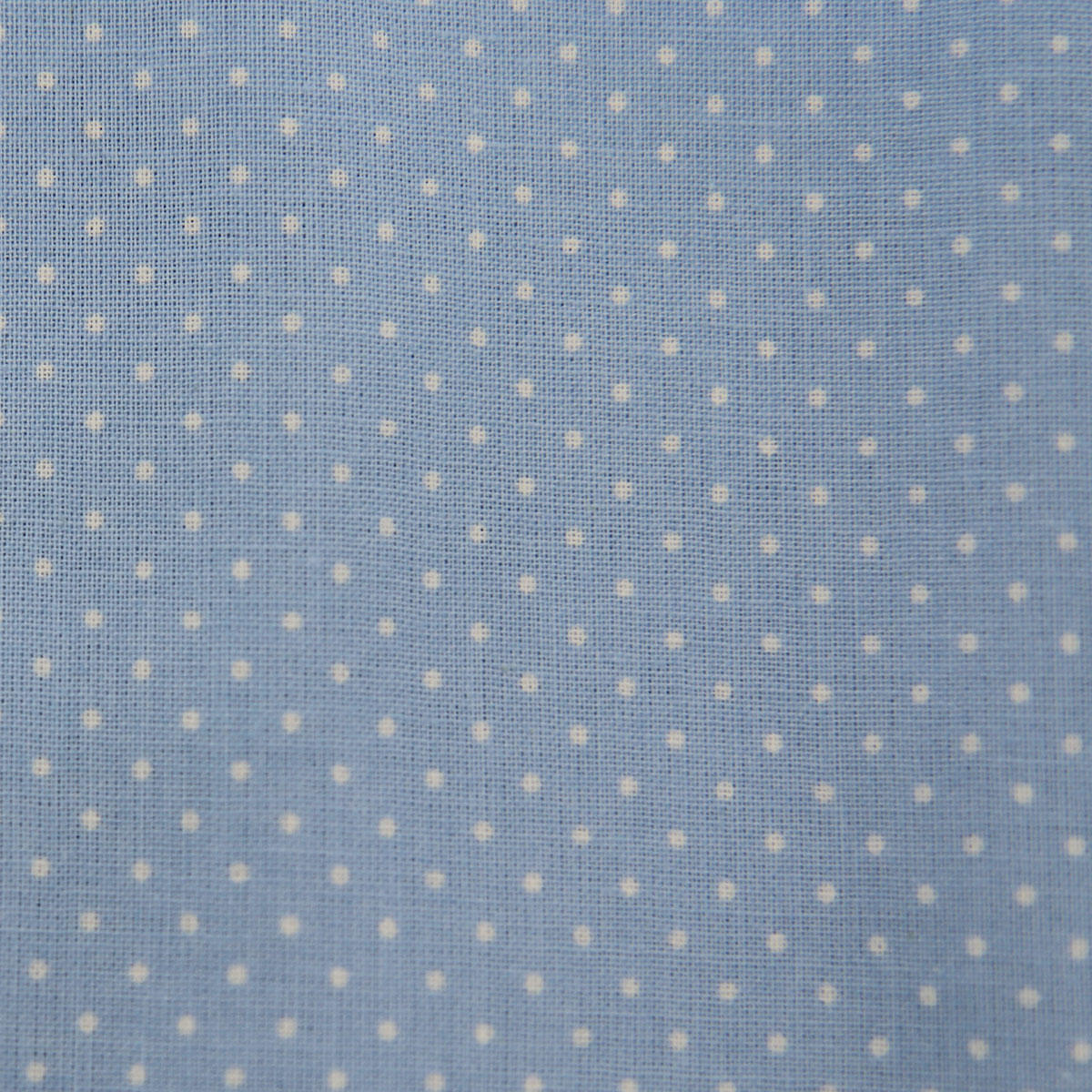 Light Blue Dotty Fabric Rectangle