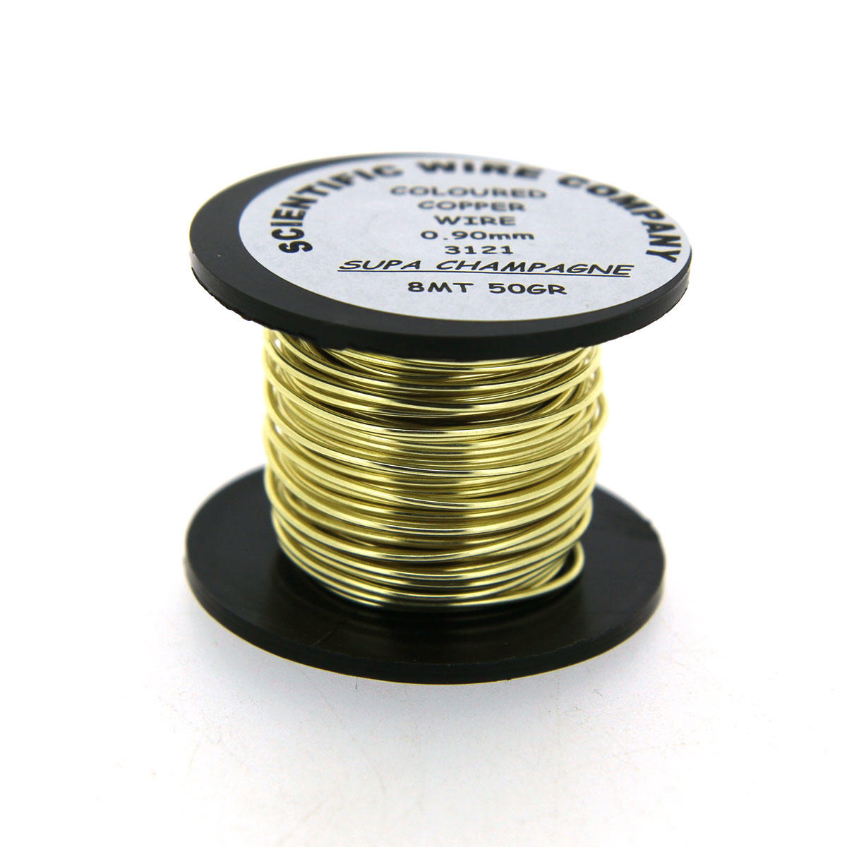 Gold (Champagne) Scientific Craft Wire Reels