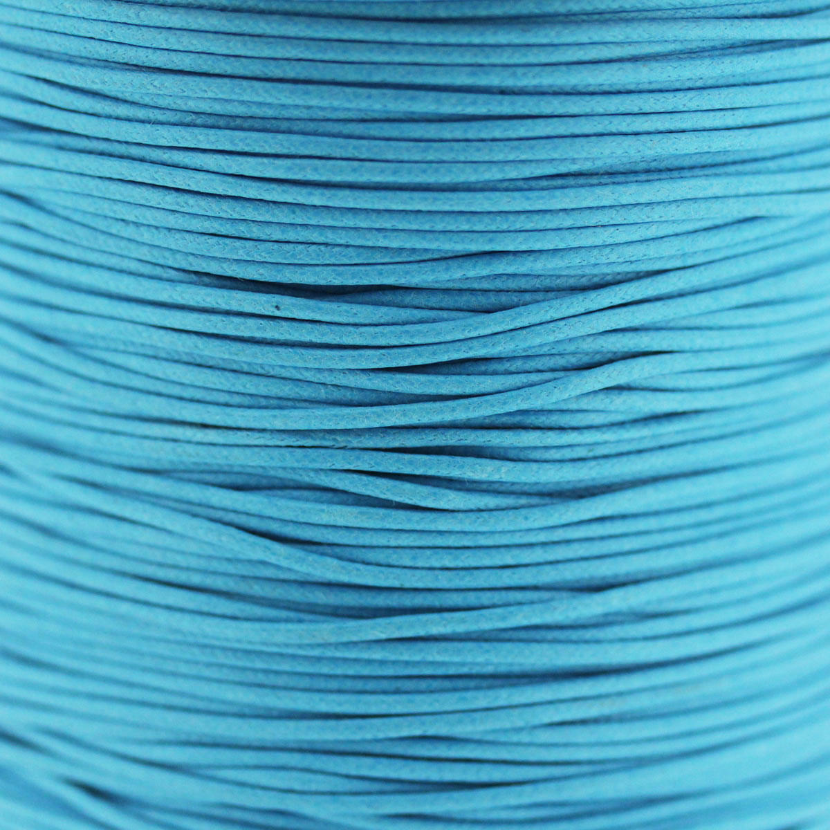 Bright Aqua 1.5mm Cotton Bead Cord