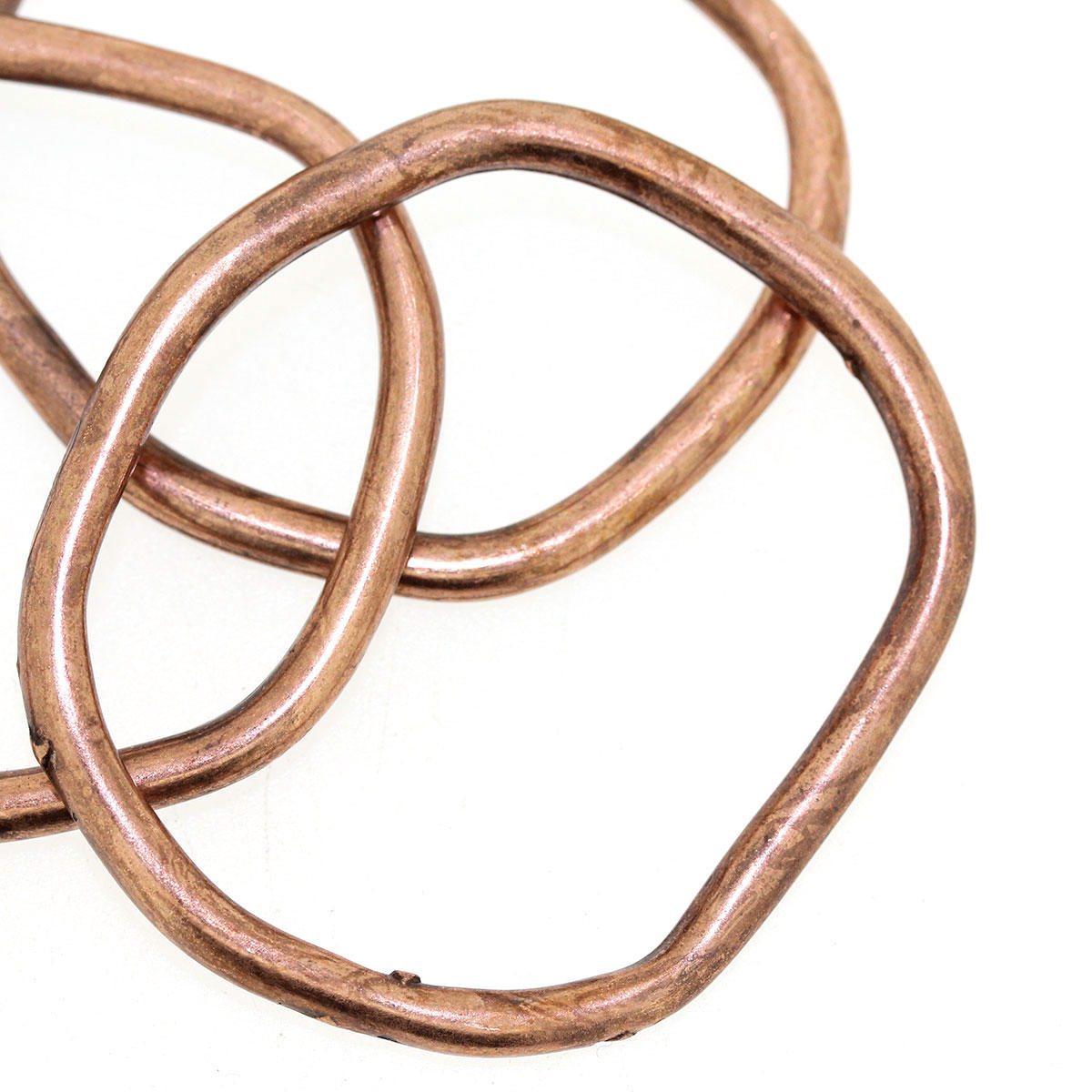 Copper Large Irregular Ring Charm