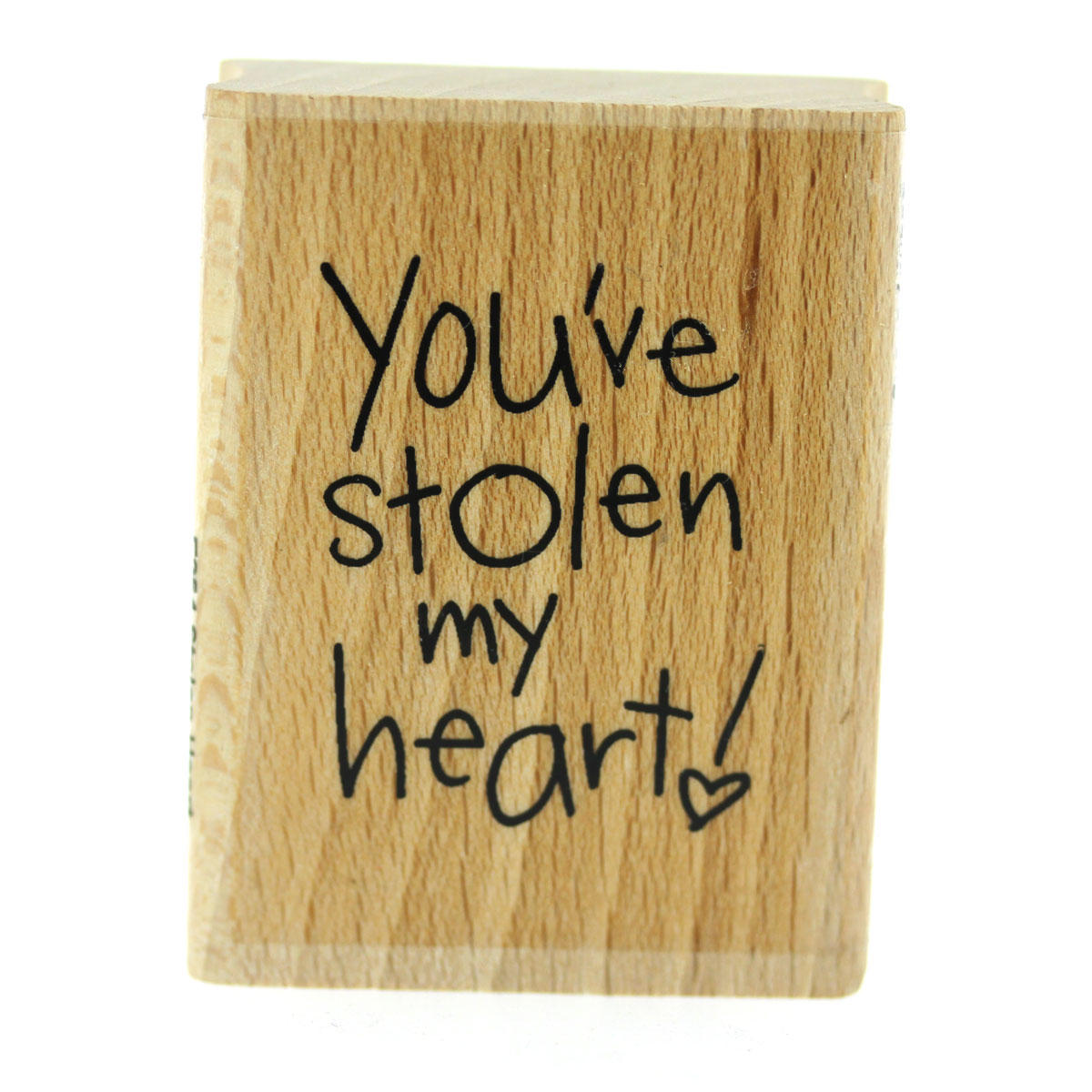 You've Stolen My Heart Rubber Stamp