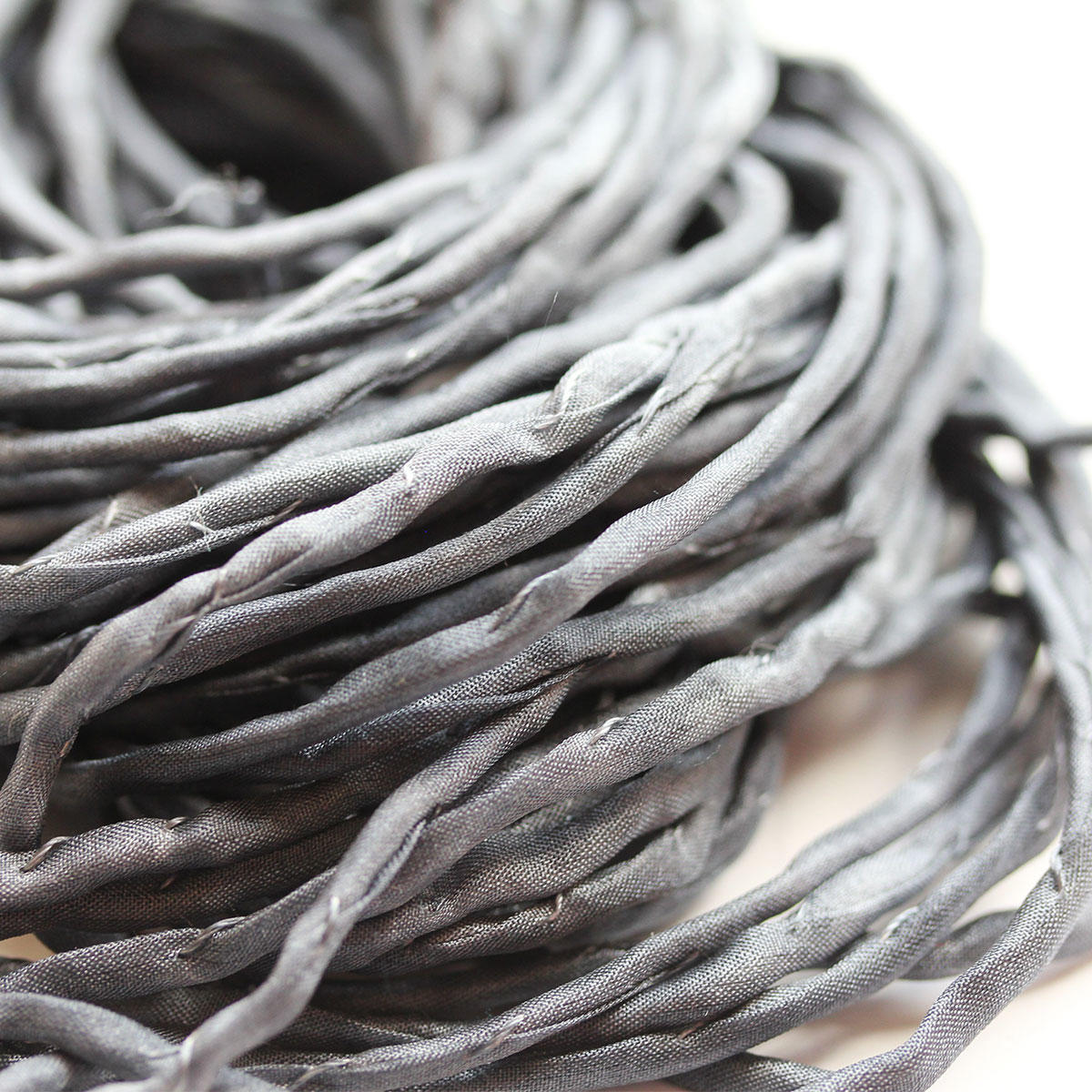 Silk Dark Grey String