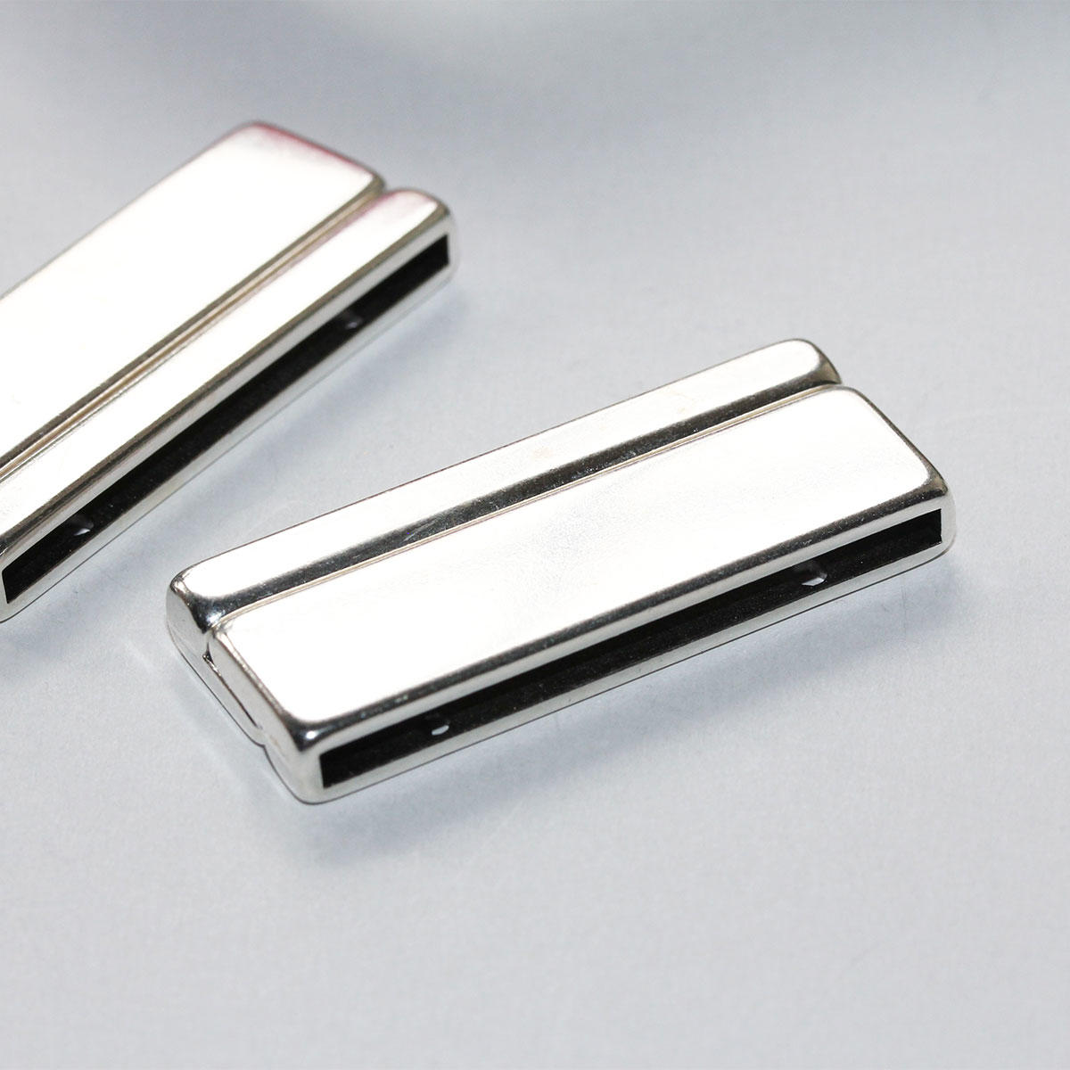 Silver Long Magnetic Clasp