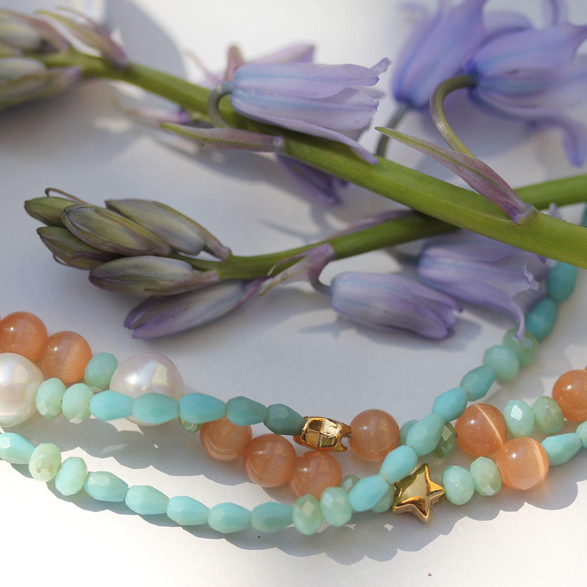 New Summer Coloured Beads for Jewellery Making