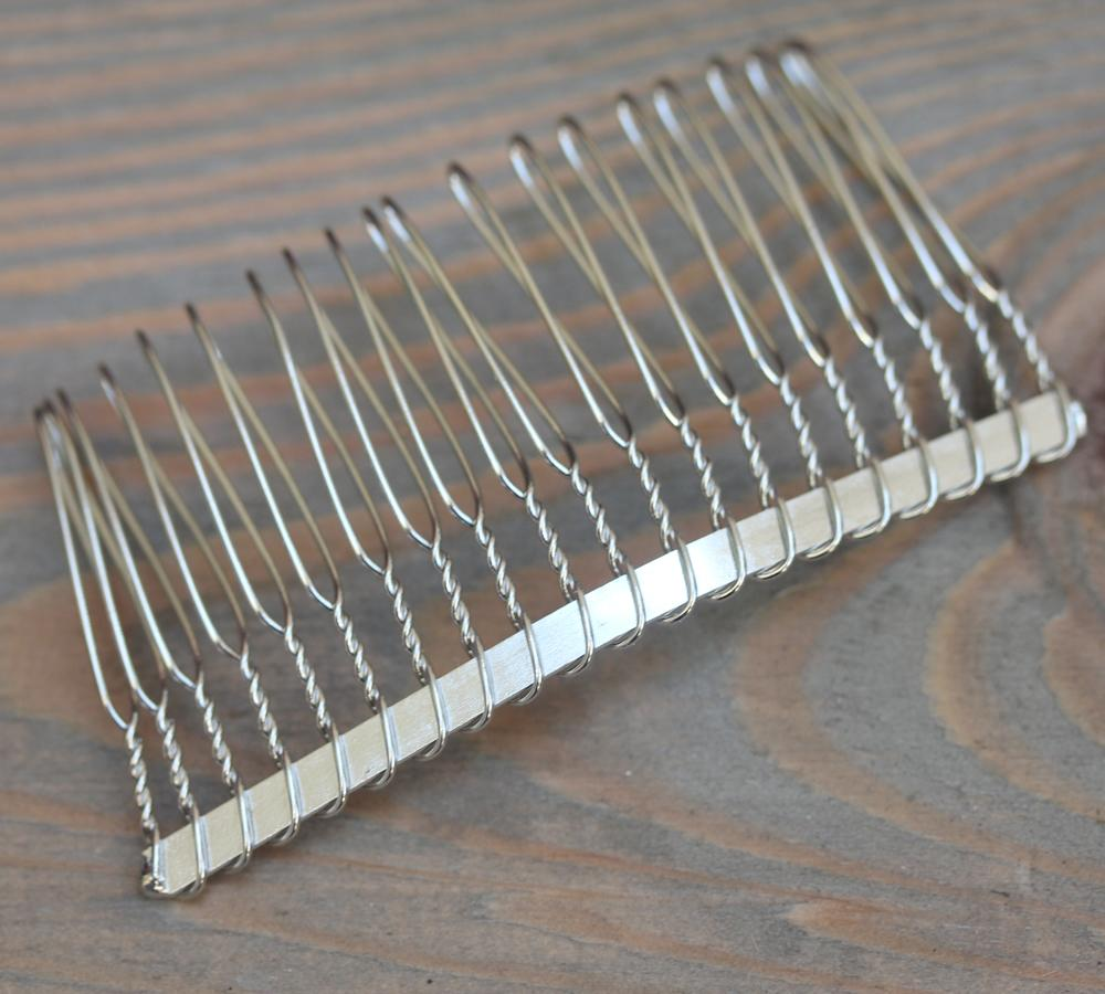 Silver Hair Comb Form