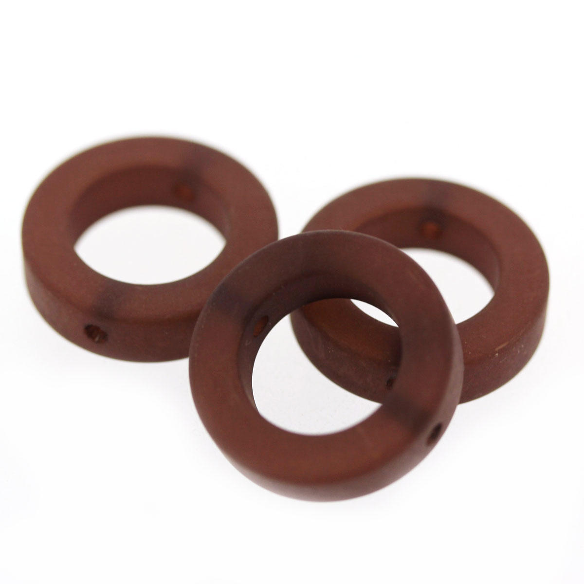 Chestnut Polaris Open Circle Bead