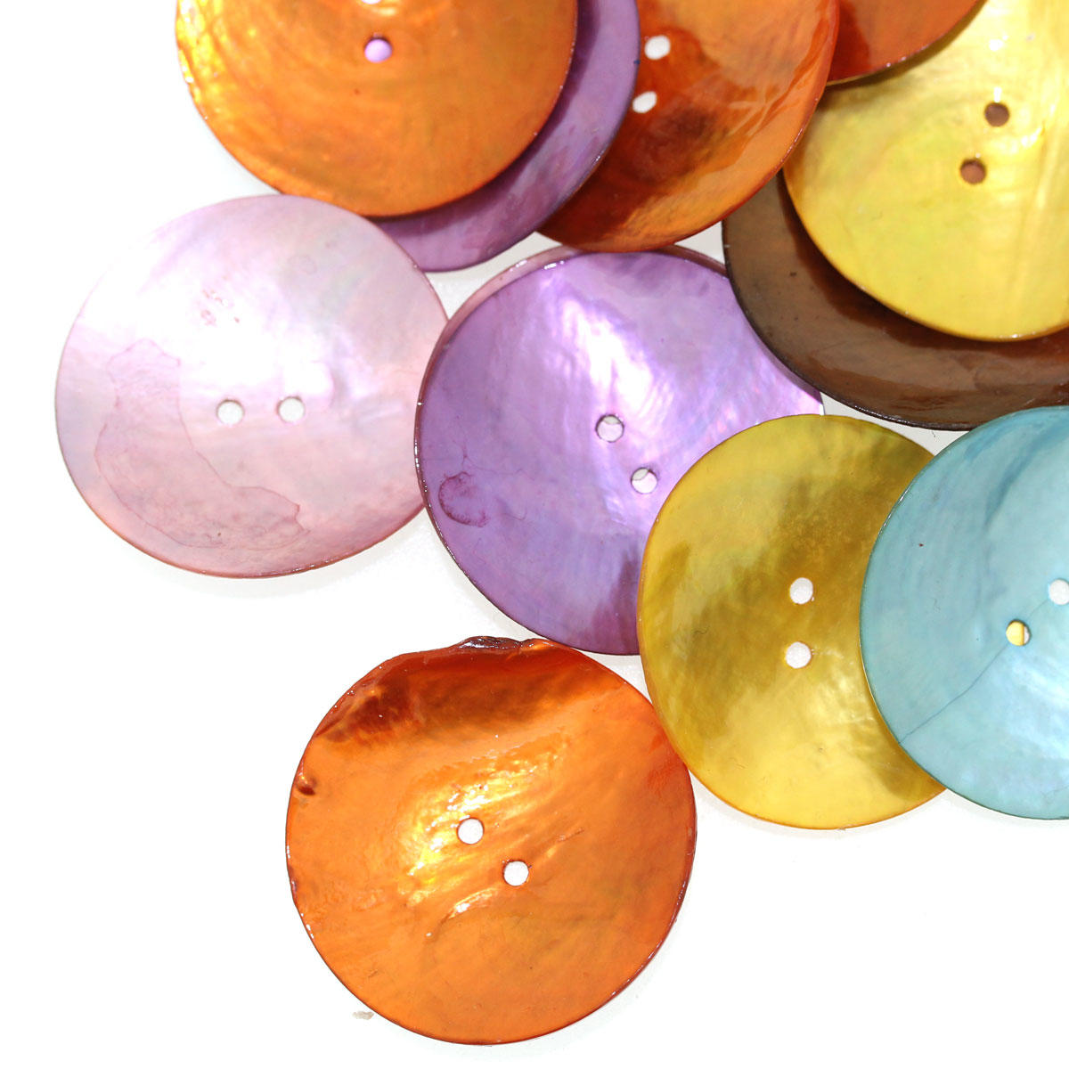 Large Shell Button Mix