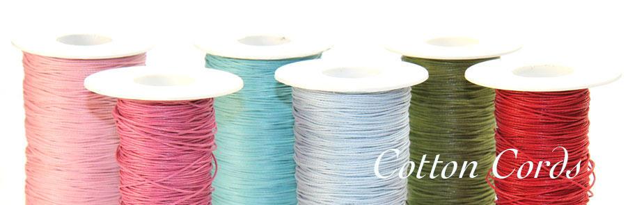 Cotton Cords at Bijoux Beads