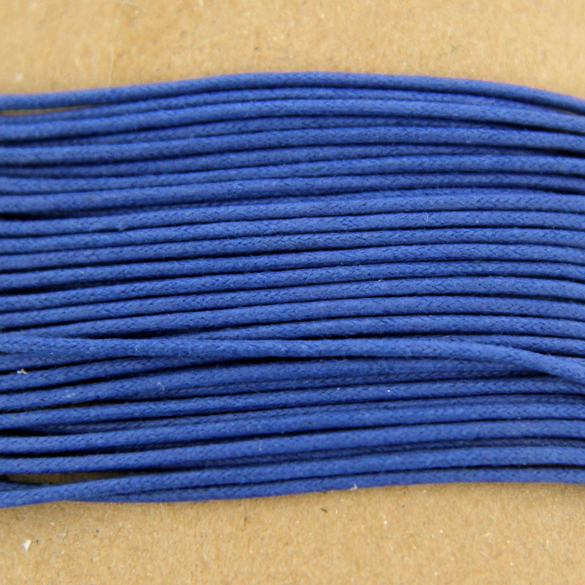 French Blue Thick Cotton Bead Cord 1.3mm