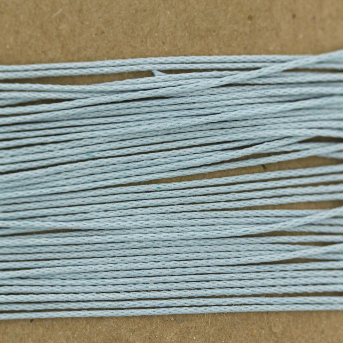 Pale Blue Thin Cotton Bead Cord