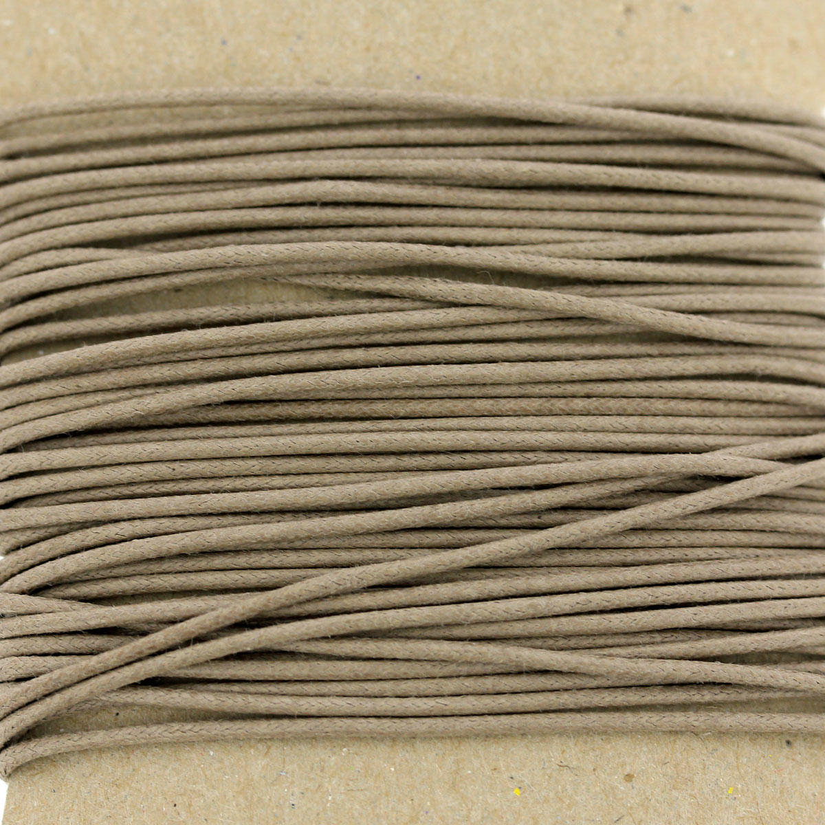 Taupe Thick Cotton Cord