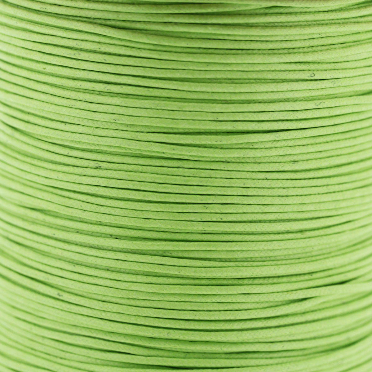 Acid Green 1.5mm Cotton Bead Cord