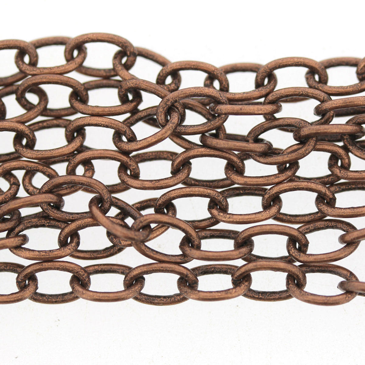 Antique Copper plain Italian Chain