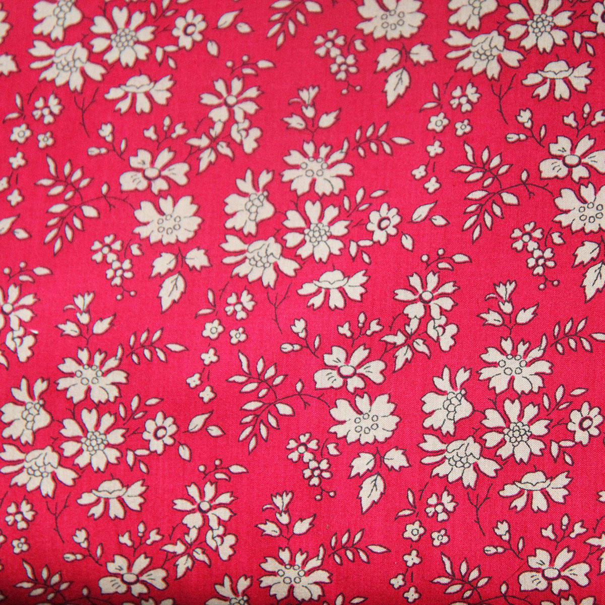Liberty Capel Red Tana Lawn Fabric