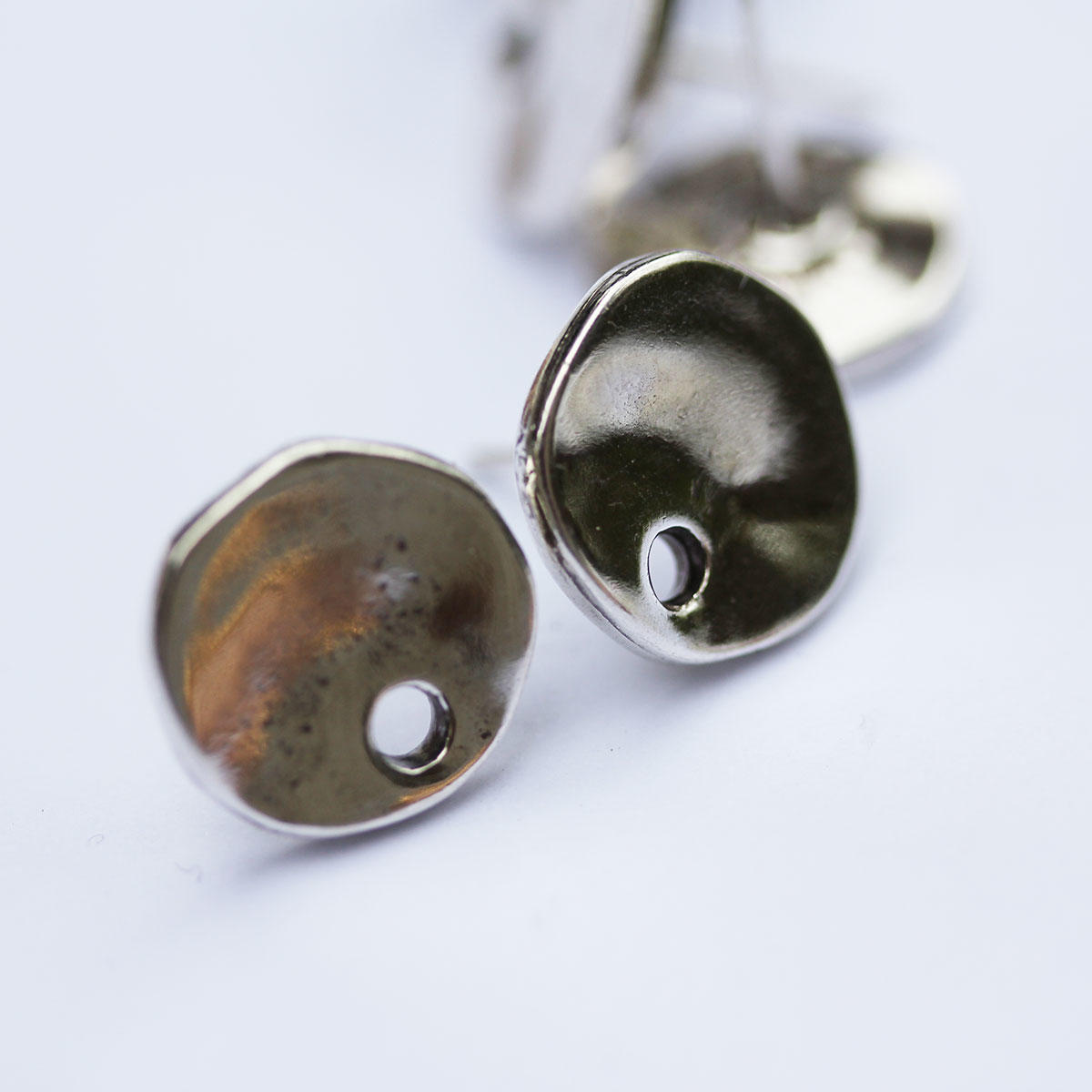 Silver Coin Spanish Earring Fitting