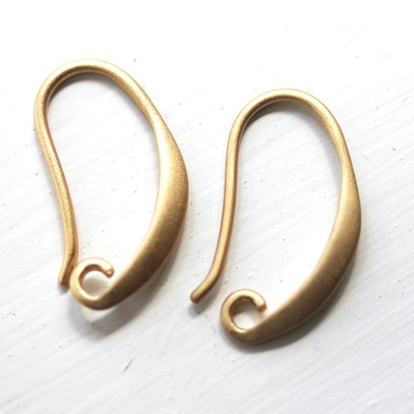 Soft Gold Earring Hooks