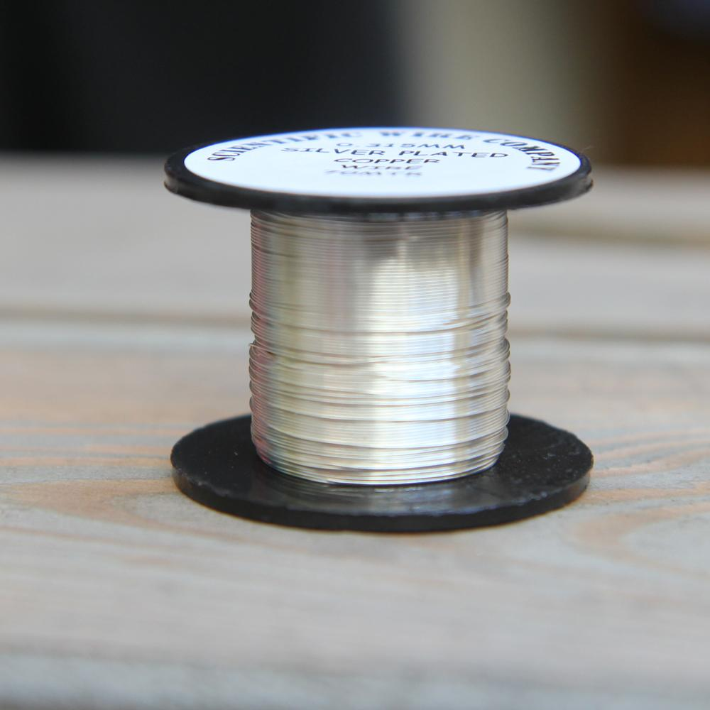Scientific Wire Company silver plated 0.315 wire