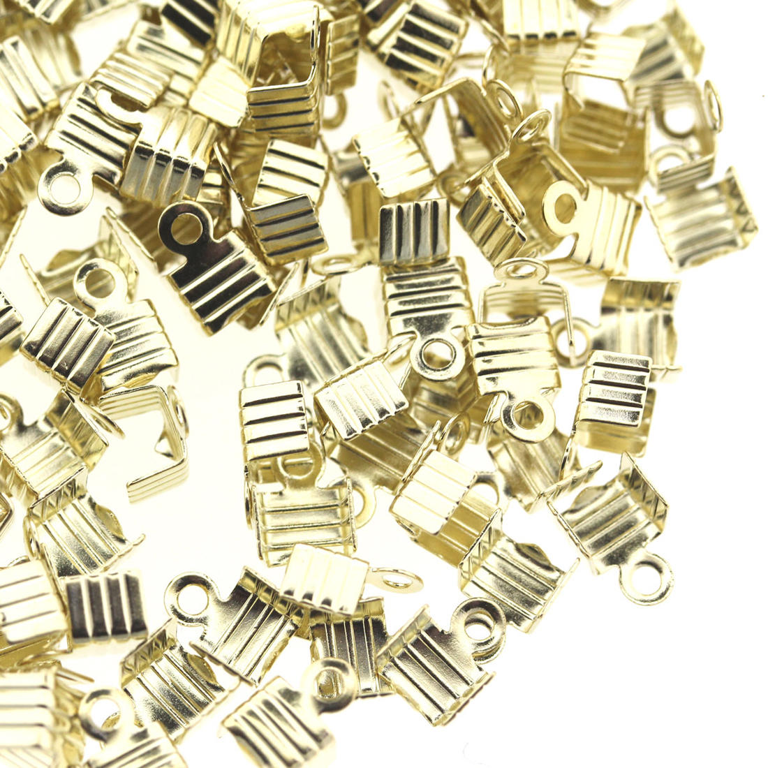 Light Gold Medium Folding Crimp