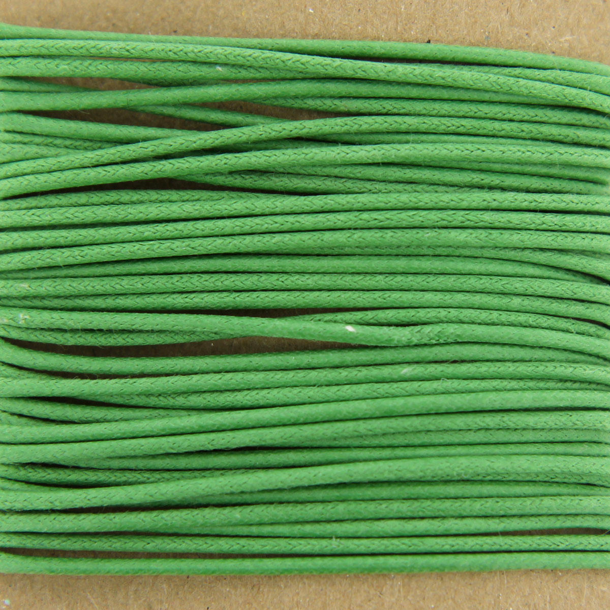 Green Thick Cotton Bead Cord 1.3mm