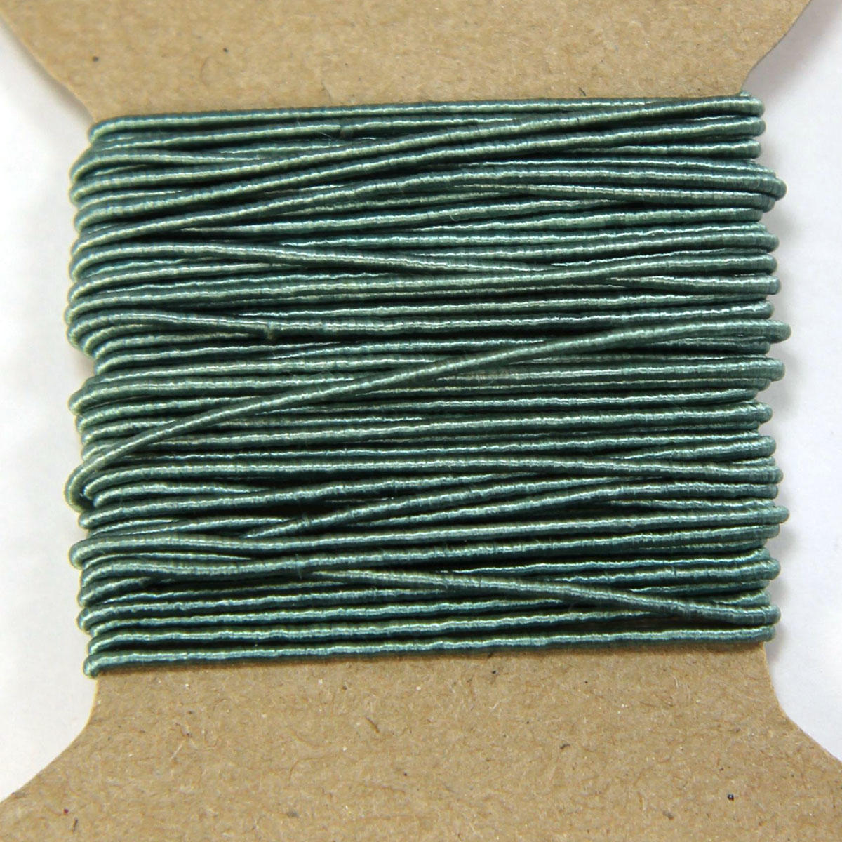 Muted Turquoise Silken Beading Cord