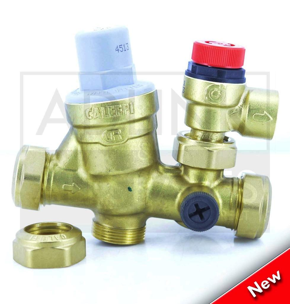 Albion Aerocyl Unvented Cylinder Inlet Control Set Valve