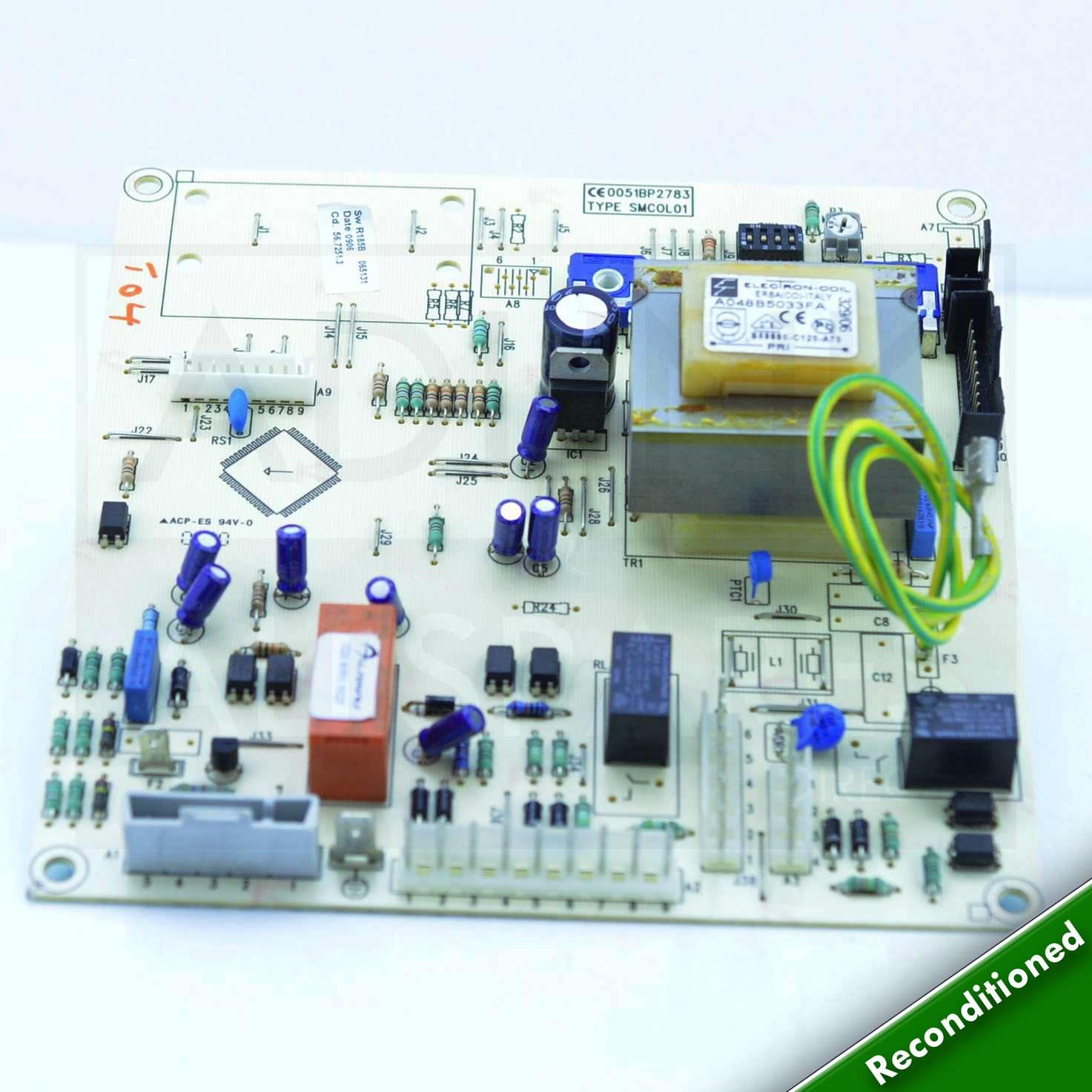 Main Combi 30 He B Band Boiler Pcb 5112380 Printed Circuit Board Supply Domestic And Offshore