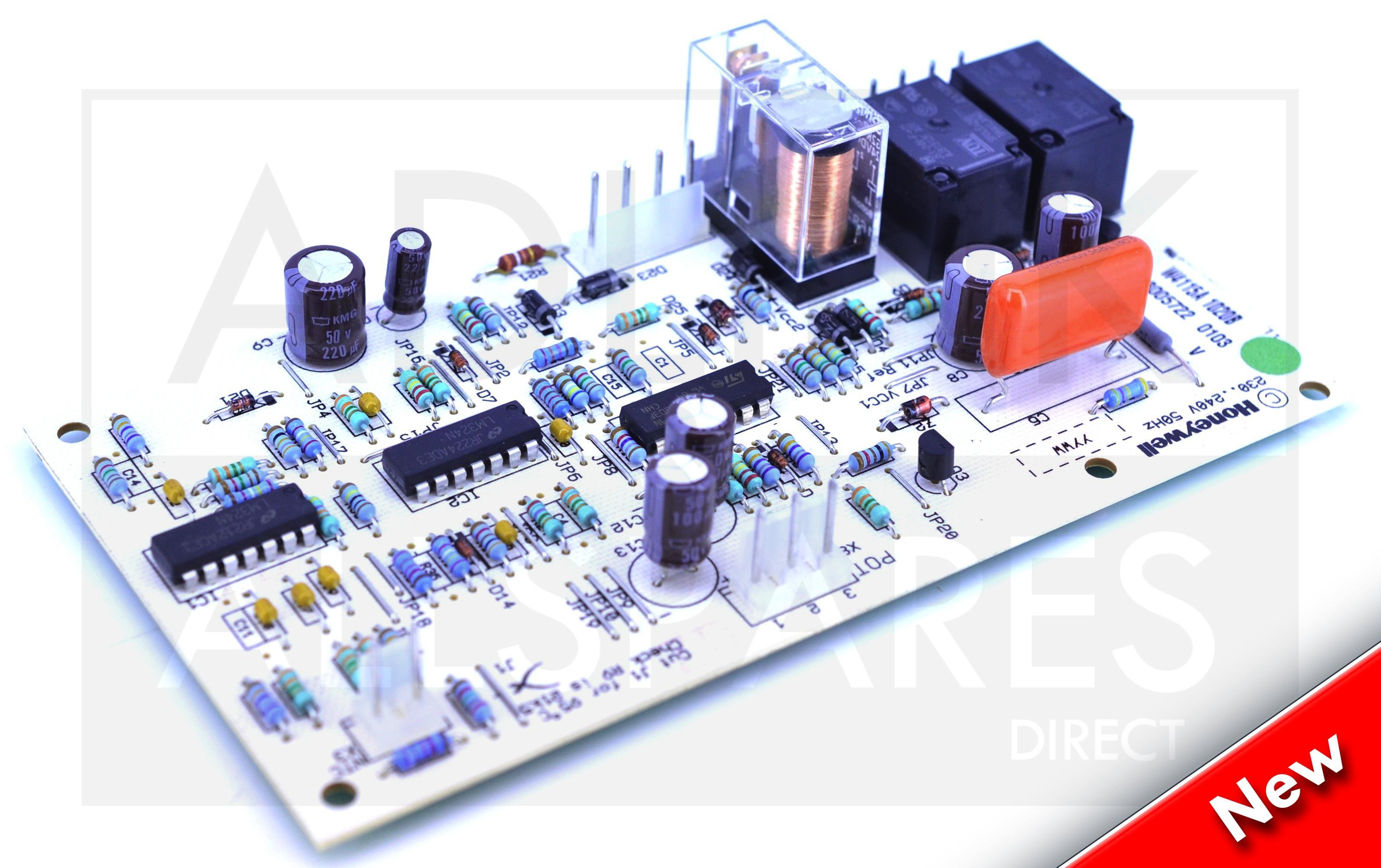 IDEALE Concord CXA AQUASTAT 154815 PCB