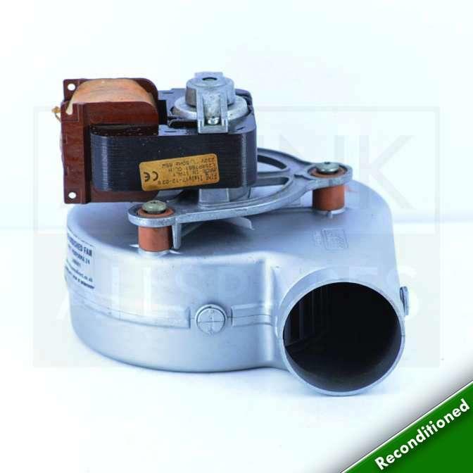 Baxi combi 80 eco maxflue 80 boiler fan 248001 for Baxi eco 3 manuale