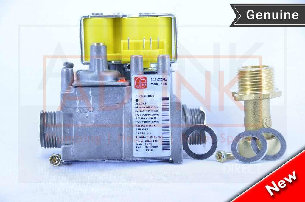Potterton Titanium 24 28 33 40 Boiler Gas Valve   Sigma