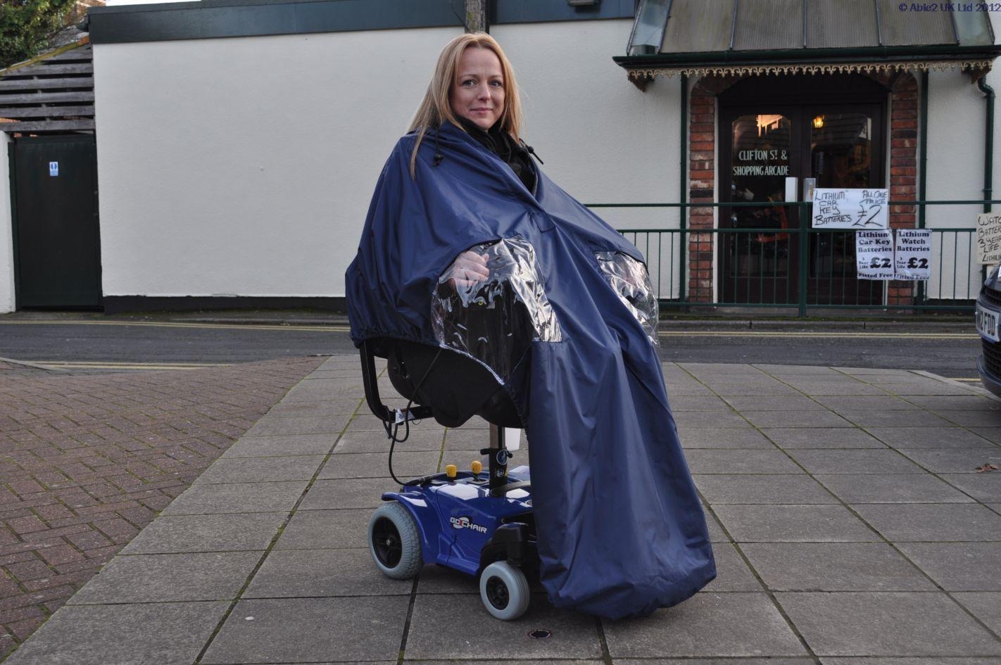 Splash Powerchair Cape Lined